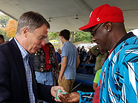Mayor Hogsett & Veteran