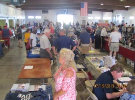 85 Vendors in the Marion County Fairgrounds 4-H Building