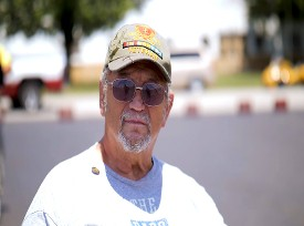 Veteran Attending Mayors Event