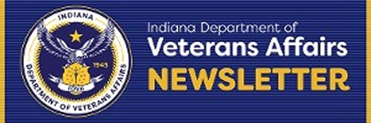 Indiana Department of Veterans Affairs Newsletter Logo